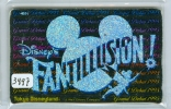 Télécarte Japon  (3497)   DISNEY *  Phonecard Japan * TELEFONKARTE * - Disney