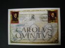 BELGIQUE ESPAGNE �mission commune. 500 ans de la naissance de  CHARLES QUINT. CAROLVS QVINTVS. 2000.   �tat impeccable.