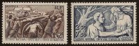 FRANCE 1941  YT N° 497/498 Neufs,  Au Profit Du Secours National - France