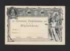 Turnverein Niederbrechen Mitgliedskarte Ungebraucht - Historische Dokumente