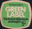 SOUS BOCK- GREEN LABEL - Beer Mats