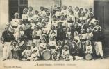 BORDEAUX - CAUDERAN . L'AVANT GARDE . CARABINIERS . CPA ANIMEE . 1908 . - France