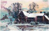 Schöne Weihnachts-AK, Gel.  1907 - Non Classificati