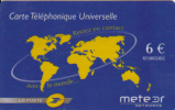 La Poste Meteor Networks 6€ Rech. Mint - France