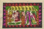 NEPAL - ART ON HAND MADE PAPER - Nepal