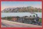 TRAIN DE SIMPLON, CHEMIN DE FER, EISENBAHN, RAILROAD - VD Vaud