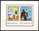 Royaume 1968  Paix Interraciale Luther King, Lincoln, Kennedy  Bloc Mi Bloc 130 ** MNH - Yemen