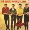 VINYLE . 45 T . THE SHADOWS . The Savage . Wonderful  Land .  COLUMBIA E.S.D.F. 1404 - Rock