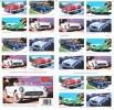 U.S. 3935b  **  50´s  SPORTY CARS - Booklets