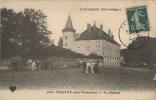 63 -  CHIGNAT (Près De VERTAIZON) - CPA - LE CHATEAU - Vue Animée - Circulée 1908 - France