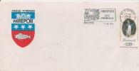 Flamme De Mirepoix Cite Medievale  Du 11-6-1989  Sut YT 2575 - Postmark Collection (Covers)