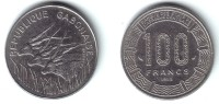 GABON - 100 Francs 1985 - KM#13  Unc- - Gabon