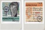 FAEROE IS.  1981 Historic Writing On 5 Maximum Cards.  Michel 65-69 - Faroe Islands