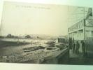 """Cpa \""""  LE HAVRE """" Un Coin De Plage 1911 ......au Dos """" Pub CHOCOLAT LOUIS - Postcards"""