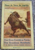 Plaza De Toros De Logrono San Mateo 1953/1 - Autres