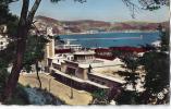 Philippeville ; La Gare  C F A Et La Baie. Tampon  Algerie Francaise 1958 - Algerije
