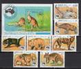 Laos 1984 Australian Animals, Ausipex ´84 Set Of 7 + S/s MNH - Non Classés