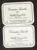 2 Etiquettes Chablis 1985 1986 Chablis - Bourgogne