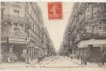 CPA 75 PARIS XIV Rue Daguerre Et Avenue D'Orléans Commerces Café Maison GOUACHE Animation 1912 - District 14