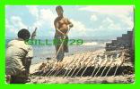PUERTO VALLARTA, MEXICO - ASANDO PESCADOS EN LA PLAYA - ROASTING FISH ON THE BEACH - - Mexico