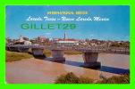 NUEVO LAREDO,MEXICO - INTERNATIONAL BRIDGE - TRAVEL IN 1964 - ANIMATED - - Mexico