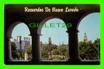 NUEVO LAREDO,MEXICO - VISTA DE LA PLAZA HIDALGO - TRAVEL IN 1971 - - Mexico