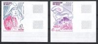 MALI - Révolution Francaise - Philexfrance-YT A541/2 ** MNH - NON DENTELE / IMPERF - Rivoluzione Francese