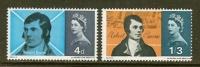 UNITED KINGDOM 1966 Unused Hinged Stamp(s) Robert Burns Nrs. 408-409 - 1952-.... (Elizabeth II)
