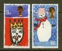 UNITED KINGDOM 1966 Unused Mint Stamp(s) Christmas Nrs. 442-443 - 1952-.... (Elizabeth II)