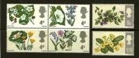 UNITED KINGDOM 1967 Unused Hinged Stamp(s) Flowers Nrs. 446-451 - 1952-.... (Elizabeth II)