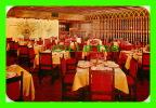 CIUDAD DE MEXICO - LA POSADA DE LEO RESTAURANTE - DINNING ROOM - TRAVEL - - Mexico