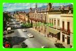 MORELIA, MICH., MEXICO - AVENIDA NADERO - ANIMATED WITH CARS - - Mexico