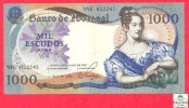 Portugal 1000 Escudos 1967 - F/VF - Banknote /  Billet - Papier Monnaie - Portugal