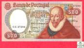 Portugal 500 Escudos 1979 - UNC - Banknote /  Billet - Papier Monnaie - Portugal