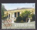 Cyprus ~ 2007 ~ 50c Buildings ~ Dual Currency ~ SG 1150 ~ Used - Used Stamps