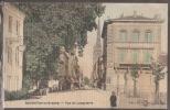 33-----SAINTE FOY LA GRANDE---Rue De Langalerie--Carte Toilée Colorisée----animé-- - France