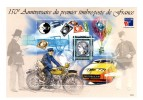 Bloc CNEP N° 30 : 150 ème Anniversaire Du 1er Timbre De France . Cote YT : 11 € , Maury : 12 € . Voir Scan . - CNEP