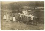 Carte Photo Ancienne Non Localisée, Surement Levrezy - Agriculture, Fenaison, Attelage (3) - Frankreich
