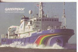 116-Trasporti-Navi-Motonave Esperanza, Ultima Nave Della Flotta Di Greenpeace-Nuova-New - Barche