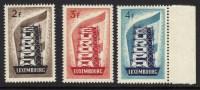 EUROPA, CEPT, 1956. COB: 600, LUXEMBOURG, 514/6,  XX.  (685) - 1956