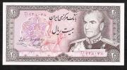 IRAN   P100d  20  RIALS   1974   Signature 12   UNC. - Iran