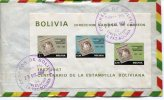 CENTENARIO DE LA ESTAMPILLA BOLIVIANA  1968  BOLIVIA  FDC   OHL - Bolivia