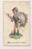 ### Chromo , With The Compliments Of The Season , Jockey , équitation - Vieux Papiers