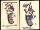 Lot De 2 CPA. Guerre 1914-1915. Illustrations  Patriotiques Signées Morinet. VIVE LA FRANCE/... L'ANGLETERRE. - Patriotiques