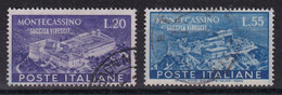 ITALIA - SASSONE Nr. 664/665 OBLITERES  - COTE = 70 EUROS - - 1946-60: Used
