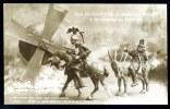 CPA. Guerre 1914-18. Sculpture Caricature : Don QUICHOTTE Et  SANCHO PANCA à La Conquête Du Monde. - Patriotiques