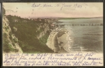- CPA ANGLETERRE - île De Wight, Cliffs And Pier - Angleterre