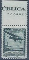 ESNE38-L1578TOM.Espagne .Spain.AVION EN VUELO.1939.(Ed N.E.38**) VARIEDAD BORDE DE HOJA.sin Charnela.LUJO - Transporte