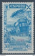 IFBE1SGV-L4181TTOT.Marocco. Maroc. Lote IFNI ESPAÑOL Beneficencia.Historia Correo.1938(Ed 2**,3**) Sin Charnela.LUJO - Transporte