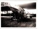 PHOTOGRAPHIE ANCIENNE : AVIATEURS ET AVION AVIATION AEROPLANE - Aviation